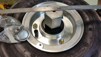 Measuring valve stem from wheel CL