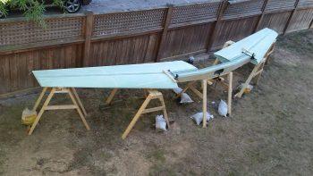 Wings & CS spar set up