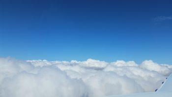 Flying high! 10,500 ft