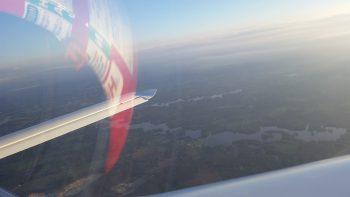 Homeward bound... descending