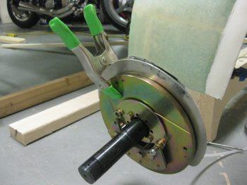 Shorter axle bolt swap