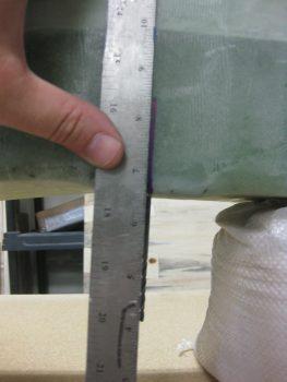 Aligning front spar pilot holes