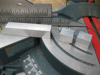 Reverse wing bolt u-channel cut