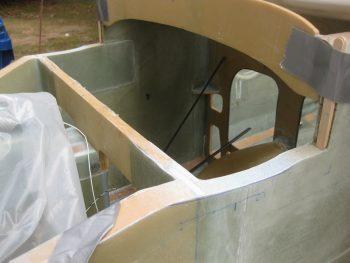 Profiling sidewalls for canard