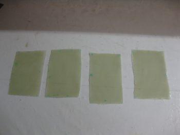 3 plies x 4 BID pads = 12 plies