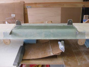 Glassing upper alignment tabs 4-ply BID