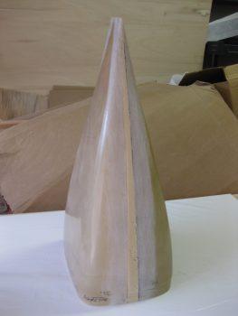 Widening insert sanded