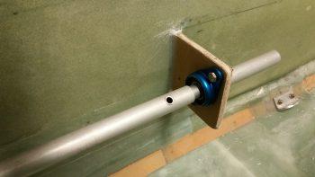 CS105 control tube mounted