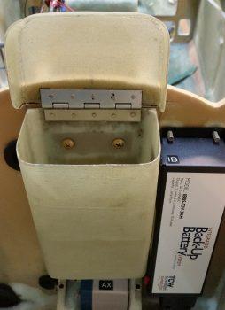 Nose tool box mounted