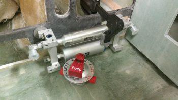 Fuel pump & valve mockup