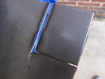 Dremel tool for final cut
