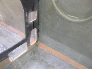 CS109 site & lower panel holes prepped