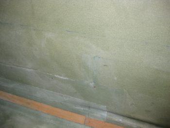 CS118 site prepped for glass