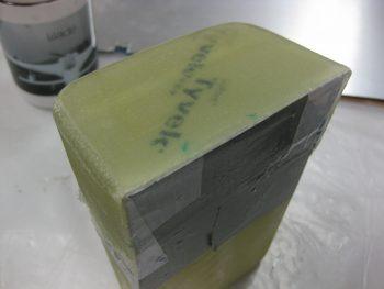 Tool box lid layup