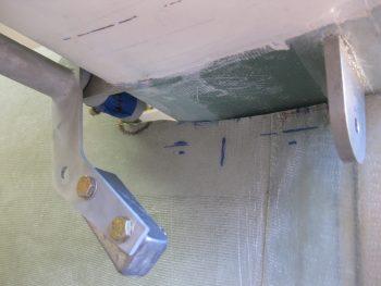 Cutting elevator control tube notch