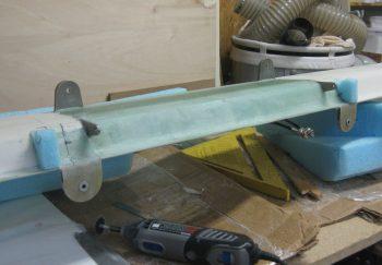 Shaping canard filler pieces