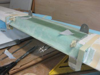 BID cut for canard filler pieces