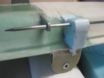 Canard filler piece alignment