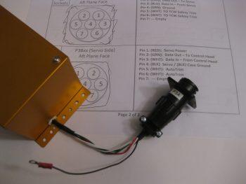 Trio pitch servo AMP CPC connector