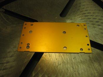 Damaged Trio pitch servo mount plate