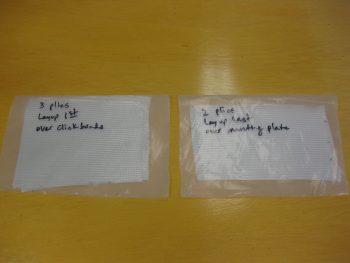 5 plies BID for Trio AP pitch servo mounting
