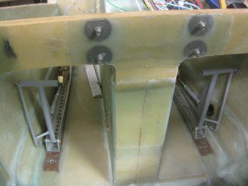 Adjusting rudder pedal positions