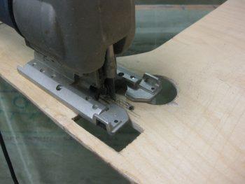 Cutting extrusion pass-throughs