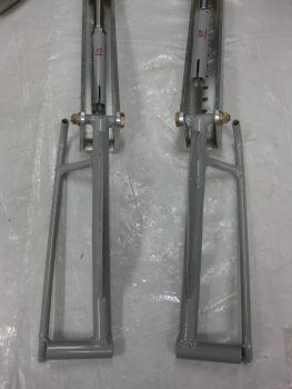 Rudder pedals trimmed!