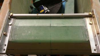 GIB seatbelt crossbar screws countersunk