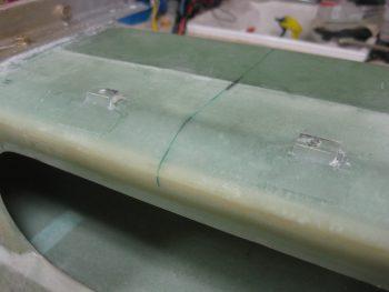 GIB seatbelt crossbar support spacers layups cured