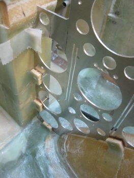 Round 2 nutplates installed & glassed