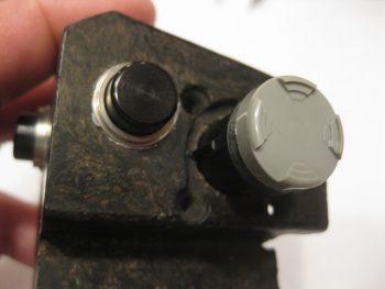 Throttle joystick switch keyway