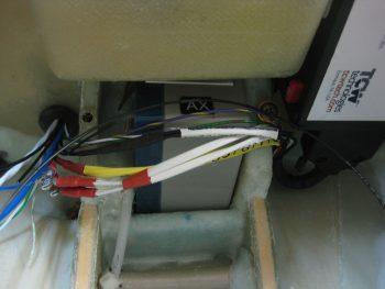 IBBS wiring harness in & test fit wires thru BH