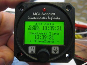 Function testing MGL RTC-2 Clock