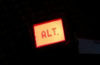 AG6 Warning Annunciator Screen