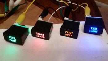 Non-warning ON/OFF LED Indicators